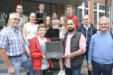 """Landesprogramm Schule und Kultur: FBG begegnet dem """"digitalen Mittelalter"""""""