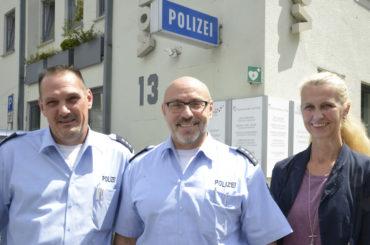 Im Osten was Neues: Andreas Alliger der neue Bezirksbeamte der Polizei