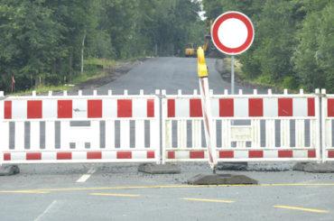 Rote-Haus-Straße: Erster Abschnitt vielleicht schon vor dem 30. Juni fertig