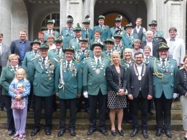 Schützenfest in Wandhofen: Wer folgt König Frank und seiner Königin Silke?