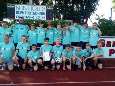 C-Jugend der SG Eintracht Ergste sichert sich den Meistertitel
