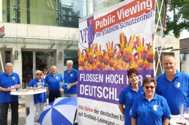 Fußball-WM: Public Viewing auf dem Schützenhof