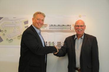 Kooperation EWG und GWG perfekt: Mehrgenerationen-Wohnprojekt Kleine Märkische Straße startet