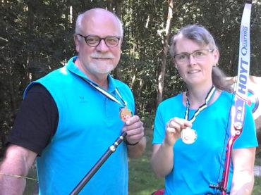 Gold für Anke Kramer und Friedel Greine