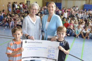 Ganz tolle Bilanz: Heideschüler erlaufen fast 6000 Euro