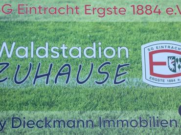 """Ergster Stadion heißt ab sofort """"Waldstadion ZUHAUSE"""""""