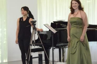 Lena-Maria Kramer und Hsiu-Ping Chang verzaubern ihr Publikum