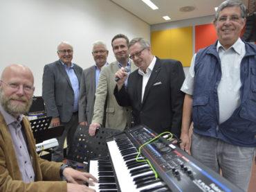 Der Rotary Club und seine sehr musikalische Spende