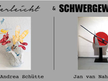 Federleicht und schwergewichtig: Frauke Andrea Schütte und Jan van Nahuijs stellen aus