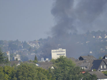 Großbrand bei Hundhausen: Keine Verletzten – Hoher Sachschaden