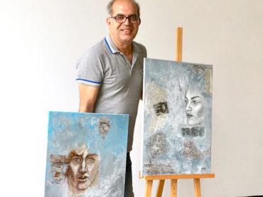 Abbas Mandeh, seine Kunst und die Ausstellung im Alten Rathaus