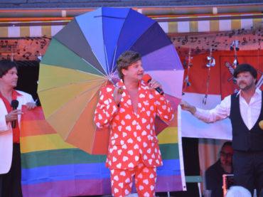 Gunthi, Micha, Nils, Martin, Toto und Susan Kent rockten die Operettenbühne