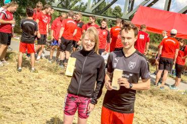 Dennis Pahl und Anne Waldschmidt gewinnen ersten offenen HP-Triathlon