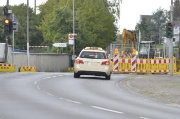 Baustelle bei Theile bleibt Autofahrern noch bis zum 8. September erhalten