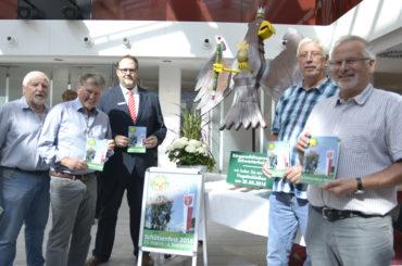 Heideschützen rupfen ihren Holzvogel – Straßen am Samstag temporär gesperrt