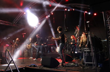 Pannekaukenfest: K.R.A.S.S. ließen den Marktplatz beben