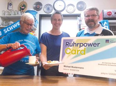 Ruhrpowercard: Kaffee und Kuchen beim Volleyball