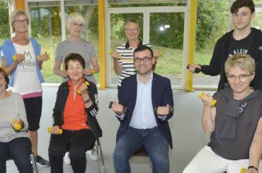 Weltalzheimertag: Bürgermeister informiert sich im Grete-Meißner-Zentrum über Sportangebote