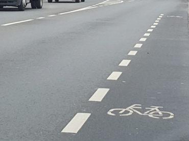 Ein Erfolg auf der gestrichelten Linie: Stadt prüft nun die Möglichkeiten für Fahrradstreifen
