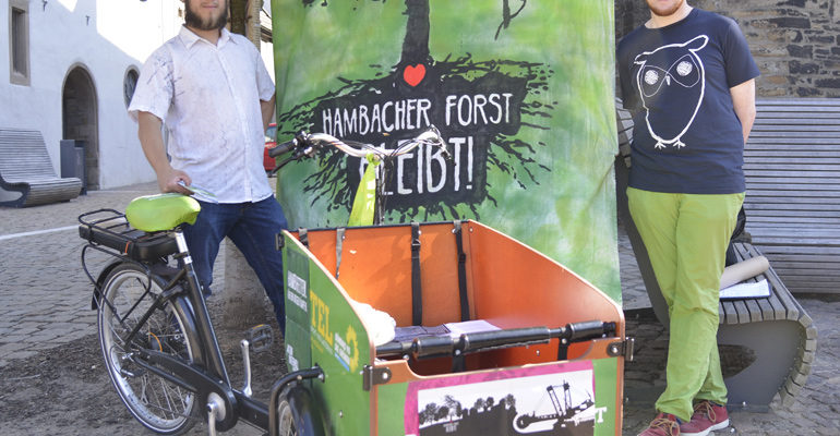 Kampf um den Hambacher Forst – Mit dem Bus ins Rheinland
