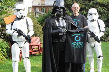 Darth Vader, die Hospizinitiative und die gemeinsame gute Sache