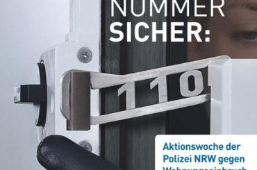Aktionswoche gegen den Einbruch: Polizei berät am 31. Oktober in Schwerte
