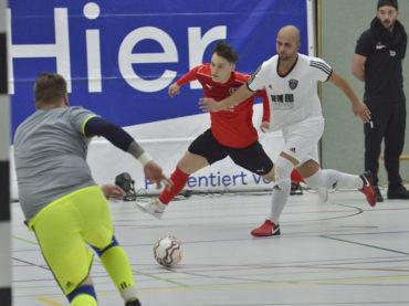 Die Holzpfosten ließen dem FC Schwerte im ersten Futsal-Derby nicht den Hauch einer Chance