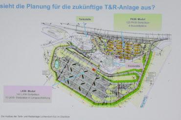 Mehr Stellflächen für Lkw und Pkw: Tank- und Rastanlage Lichtendorf-Süd wird ausgebaut