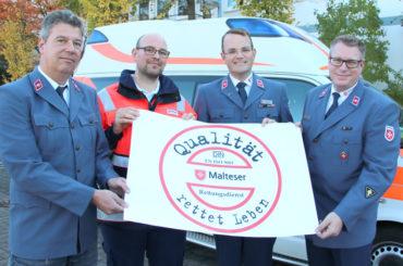 Schwerte, Hagen, Hemer: Qualität des Malteser-Rettungsdienstes bescheinigt