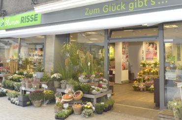 Heute vor 50 Jahren: Blumen Risse startet in der Bahnhofstraße