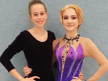 Lea-Sofie Krugmann und Natalie Potkowa stiegen auf