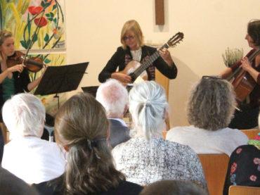 Viel Beifall für ein schönes Konzert in der Freien evangelischen Gemeinde