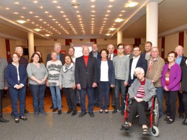 SPD ehrt Jubilare