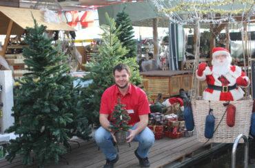 Stimmungsvolles Weihnachtswunderland im Gartencenter Pötschke