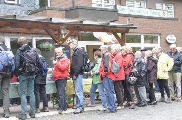 Naturfreunde feierten den 90. Geburtstag des Naturfreundehauses auf dem Ebberg