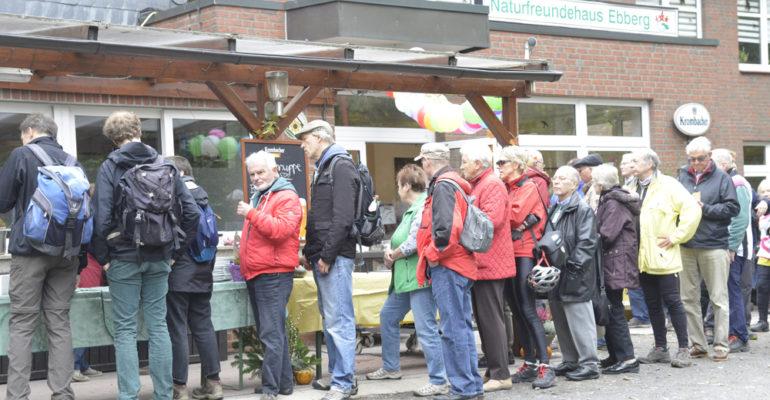90 Jahre Naturfreundehaus auf dem Ebberg: Auch der Bürgermeister war begeistert