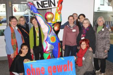 Nein zu Gewalt an Frauen: Aktionstag am Samstag