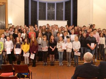 Wertschätzung und Motivation: Ehrungen des RTG im Paul-Gerhardt-Haus