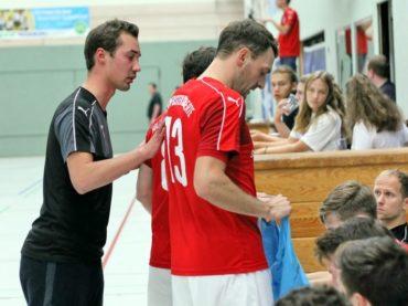 Auch der Primero Club de Futsal Mülheim kann die Holzpfosten nicht stoppen
