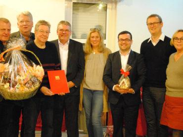 SPD Westhofen ehrt Jubilare
