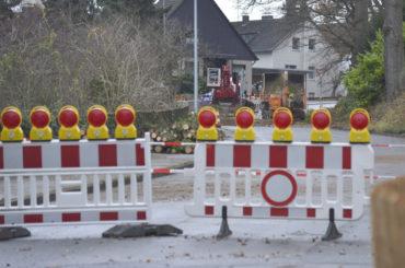 Tannen sind gefällt: Villigster Straße bald wieder frei